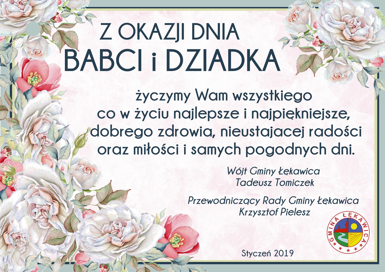 życzenia Na Dzień Babci I Dziadka Gmina łękawica Serwis